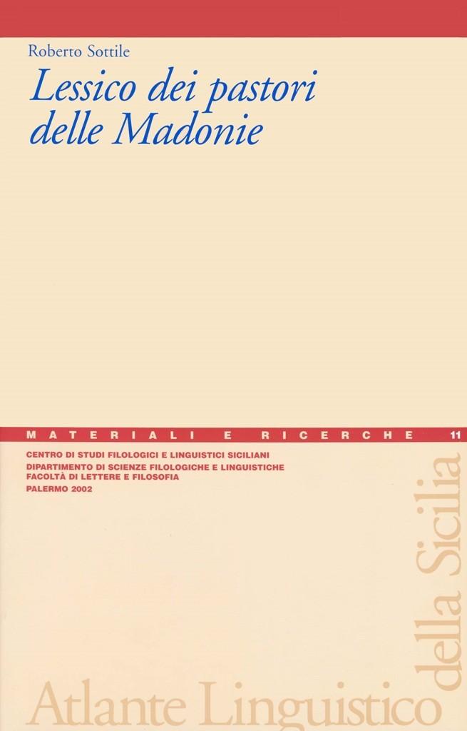 Book Cover: Lessico dei pastori delle Madonie