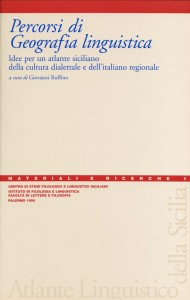 Book Cover: Percorsi di Geografia linguistica