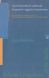 Book Cover: I GIOCHI FANCIULLESCHI TRADIZIONALI