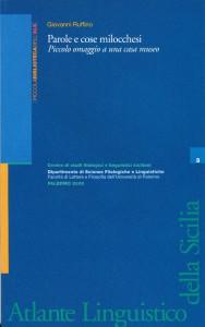 Book Cover: PAROLE E COSE MILOCCHESI
