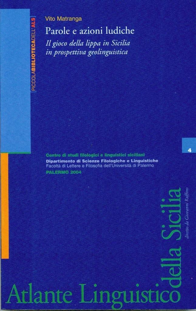 Book Cover: PAROLE E AZIONI LUDICHE