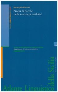 Book Cover: NOMI DI BARCHE NELLE MARINERIE SICILIANE