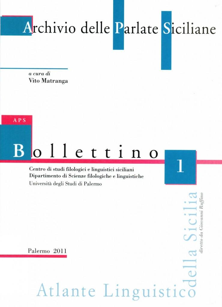 Book Cover: Bollettino