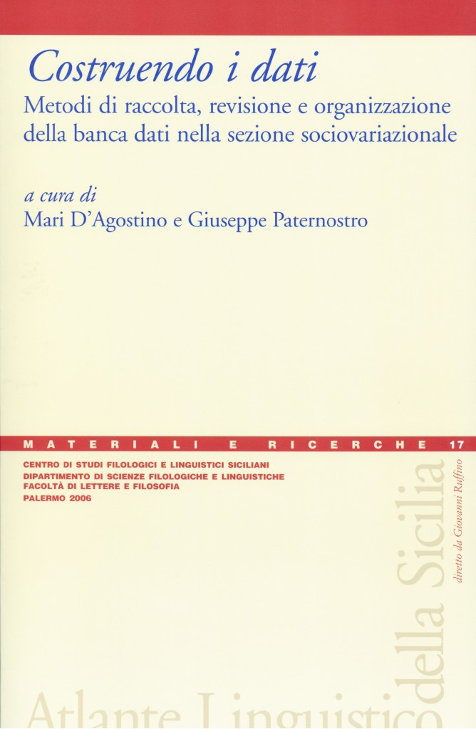 Book Cover: Costruendo i dati