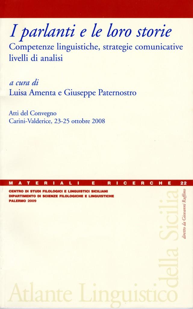 Book Cover: I parlanti e le loro storie
