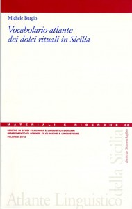 Book Cover: Vocabolario–atlante dei dolci rituali in Sicilia
